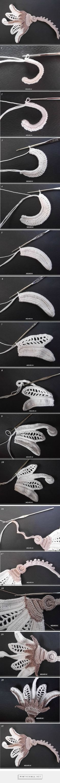 "#Crochet_Tutorial - ""Exceptional Irish Crochet tutorial!"" Enjoy from #KnittingGuru"