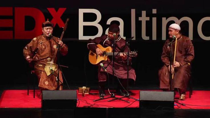 Tuvan Throat Singing   Alash   TEDxBaltimore. Très beau.