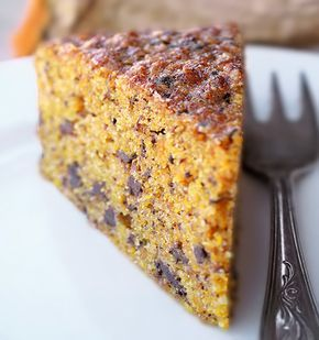 Torta di zucca al cioccolato | http://www.ilpastonudo.it/dolci/torta-di-zucca-al-cioccolato/