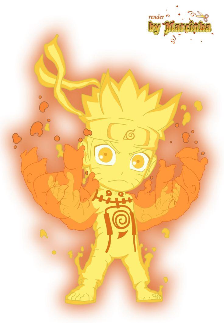 PNG Chibi Naruto Rikudou by Marcinha20 on DeviantArt