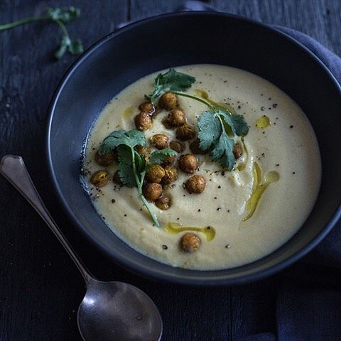 The recipe for my Pear and Parsnip Soup with Curried Chickpea Croutons is available at the My Goodness Kitchen Facebook page.   https://www.facebook.com/mygoodnesskitchen/