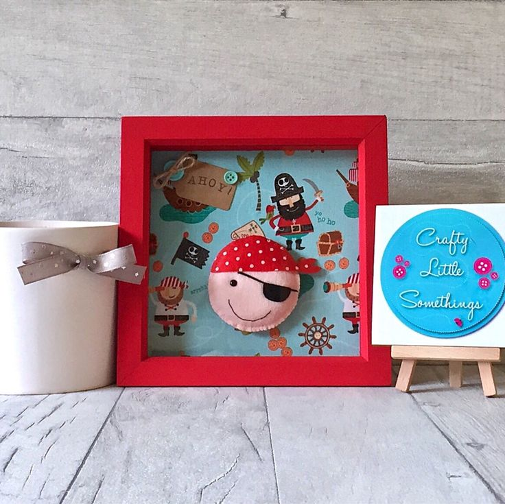A personal favourite from my Etsy shop https://www.etsy.com/uk/listing/526752024/pirate-picture-gift-3d-box-frame-picture