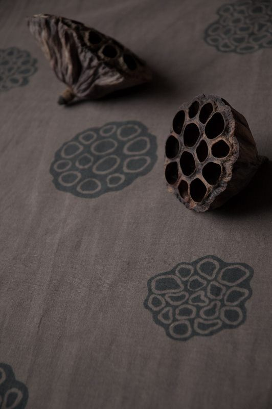 Seed Pod wood block printing- get seed pod and sand it flat to use for printing?