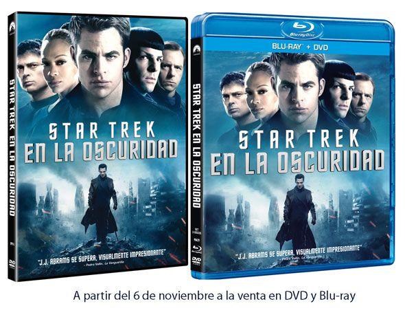 """¿Quieres llevarte 1 de los 2 DVD que sorteamos de la espectacular """"STAR TREK EN LA OSCURIDAD""""? Para participar sólo tienes que inscribirte en nuestra Web en la sección de concursos"""