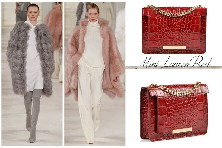 A Burgundy natural leather handbag with croco effect can be tres chic @comenziwildinga