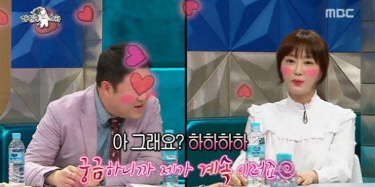 Kang Ye Won confesses to Kim Gu Ra on 'Radio Star' http://www.allkpop.com/article/2017/03/kang-ye-won-confesses-to-kim-gu-ra-on-radio-star