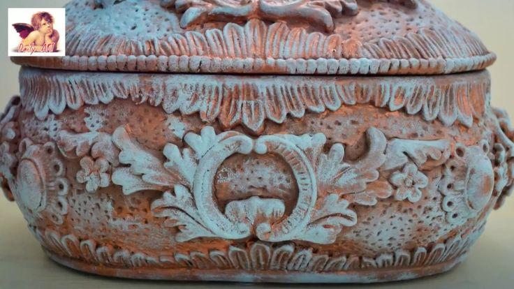 DIY Tutorial Patina jewelry box HD