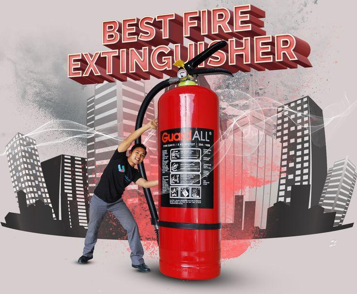 Alat pemadam api terbaik, ya Guard All tentunya....