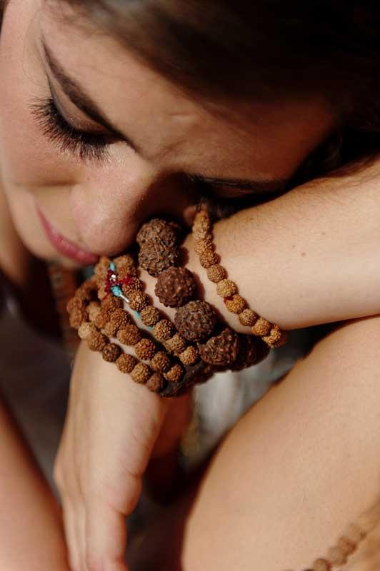 Loving these bracelets #mala #beads #jewellery #rudraksha #bali #peaceful #zen #aum