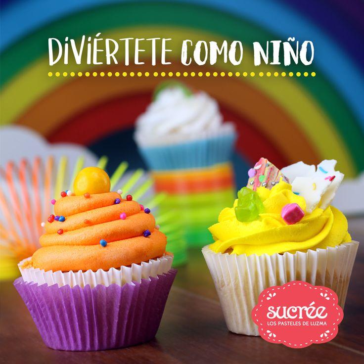 Bollitos Decorados – Cupcakes – Día del Niño – Los  Pasteles de Luzma