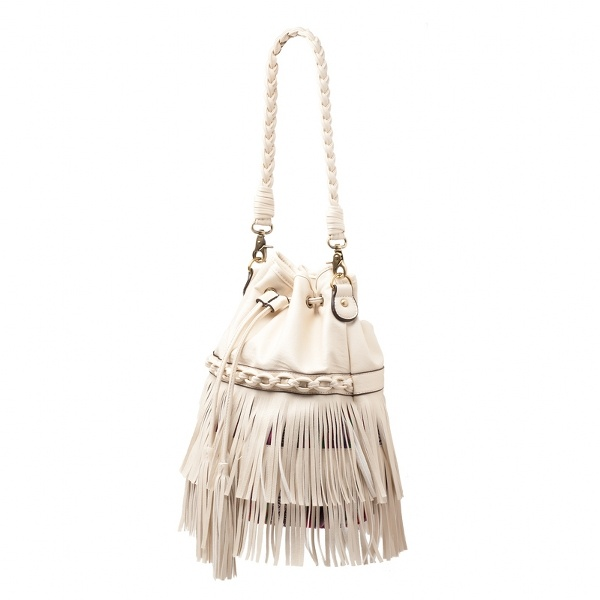 Giddy up cowgirl, the ivory color and leather fringe will make you the darlin' of the Texas nightlife.: Fringe Printed, Handbags, Style, Ivory Color, Leather Fringe, Dallas Bag, Fringes, Bucket Bag
