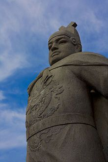 Zheng He, 1400's Chinese Muslim explorer whose voyages were ordered eliminated by Imperials.