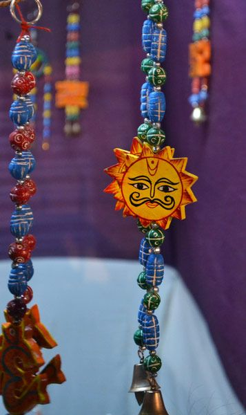 Totally indian handicrafts from shilp mela at my hometown for Handicrafts made of plastic bottles