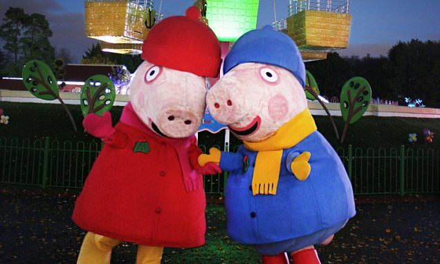 Discovering the joys of Peppa Pig World | Daily Mail Online