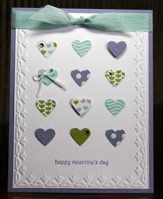 Happy Valentine's Day #card by Krystal de Leeuw