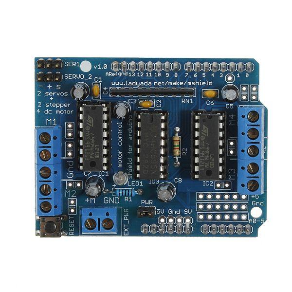 L293d moteur shield + mega2560 kit arduino mega module conseil