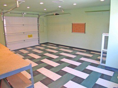 vct tilesin basket weave design in garage yelp - Vct Pattern Ideas