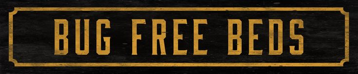 Bug Free Beds Street Sign Wall Décor