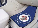 Winnipeg Jets 2pc Carpet Car Mat Set. $29.99 Only