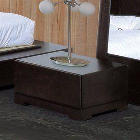 Beverly Hills Furniture Zen Espresso Nightstand Zen Night Stand