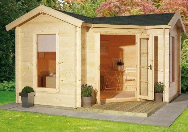 L shaped summer house google search outdoor space for L shaped shed