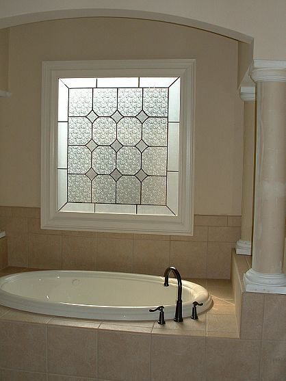 Add the look of a stained glass window with Faux Stained Glass (FSG) by Made in the Shade...Blinds