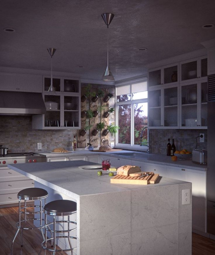 Blender Guru's Architecture Academy: Kitchens