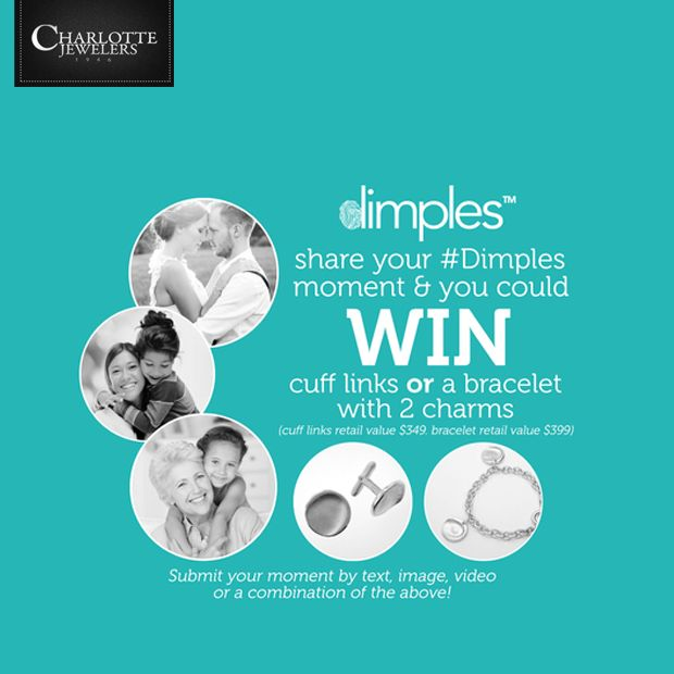 We carry Dimples <3 Visit Charlotte Jewellery!