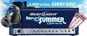 Through August 14th, head on over here to enter the Bud Light Lime Amplify Your Summer Instant Win Game. Every day, Bud Light will be giving away a total of 1,000 instant win prizes as follows… * $100 Live Nation® Concert Cash® code (610 total; 10 per calendar day) * $50 Live Nation® Concert Cash® [...]