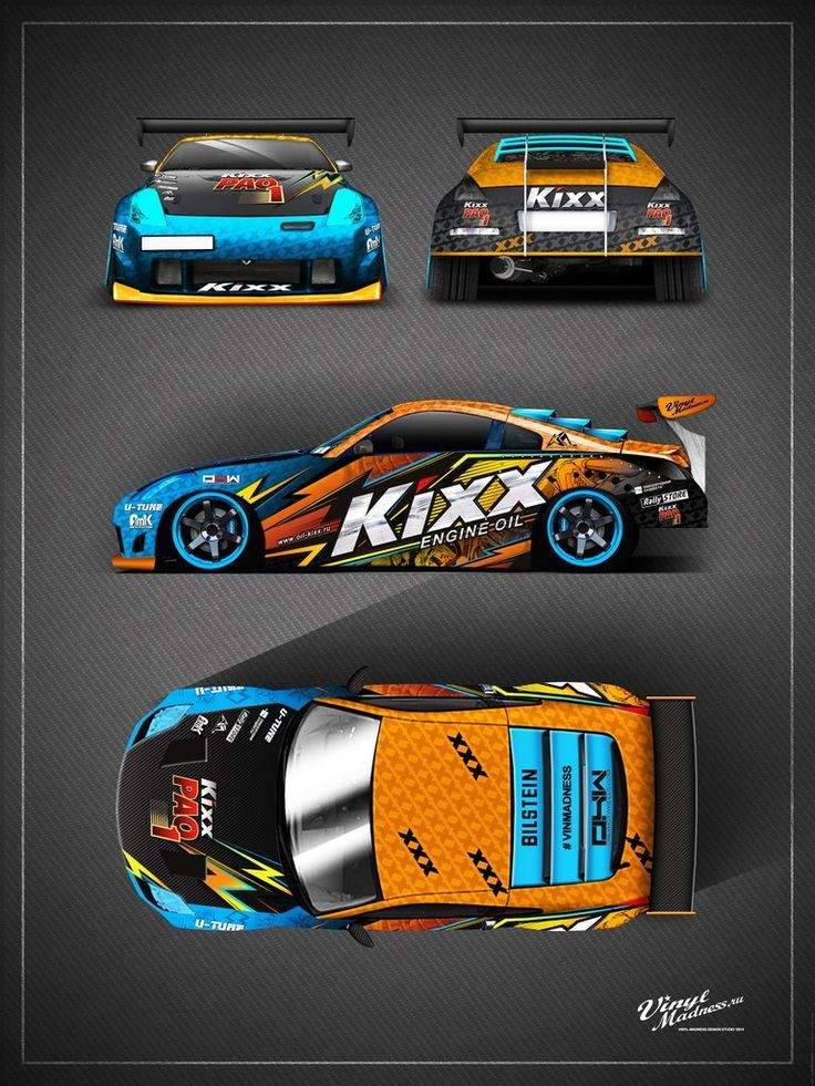 FailcrewMazdaRX Drift Design Pinterest Cars Car Wrap And - Vinyl decals for race carsbmw race car wraps by graphios