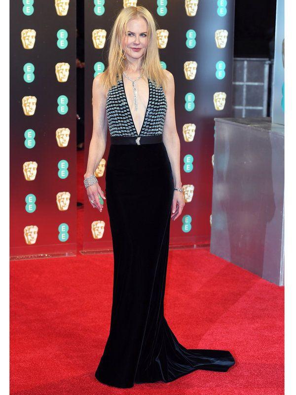 【ELLE】写真|ニコール・キッドマン(Nicole Kidman)|キャサリン妃も来場! 2017年英国アカデミー賞レッドカーペットドレスを総覧|エル・オンライン