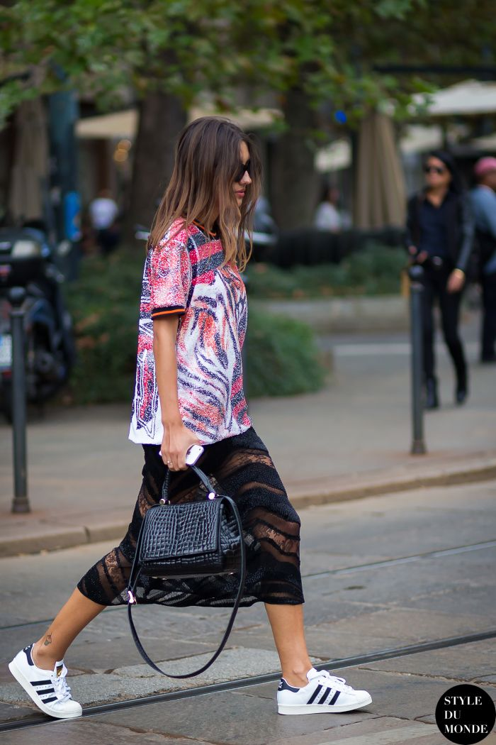 Milan Fashion Week SS 2015 Street Style: Patricia Manfield