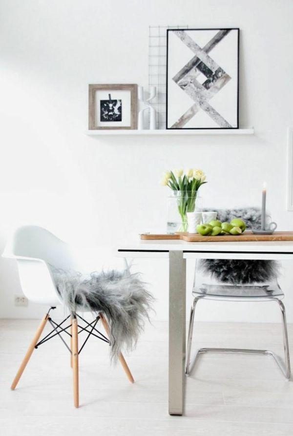 Esszimmerstühle Modernes Design Weiss ~ 78+ Ideen zu Moderne Esszimmerstühle auf Pinterest  Goldenes sofa
