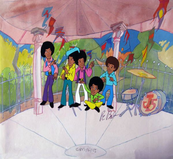 Jackson 5 Cartoon Characters : Best images about the jackson five cartoons on pinterest