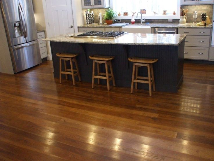 Hickory Flooring 4 7 Quot Finished With Zar Mocha Stain And