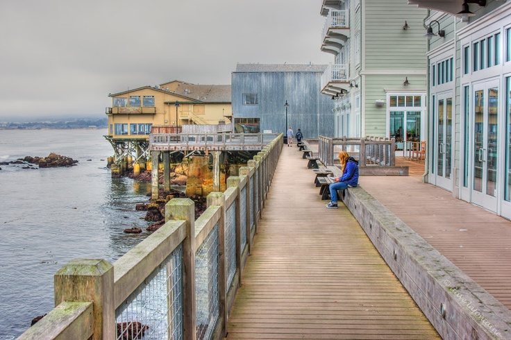 Dave Lafontaine:  Cannery Row, Monterey Bay, California