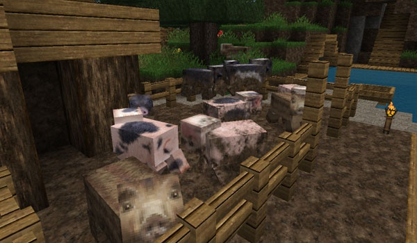Misa's Realistic Texture Pack para Minecraft 1.4.2