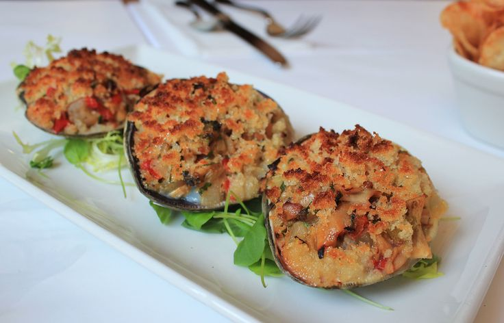 Cherrystone Stuffies from The Clam in #NewYorkCity – read my #Brunch review on #erinontherun #blog
