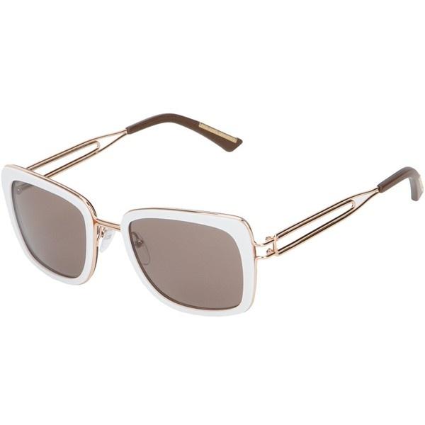 ROLAND MOURET 'James' sunglasses ($425) ❤ liked on Polyvore