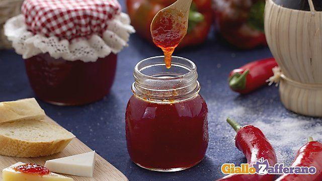 marmellata di peperoncini piccanti chili jam