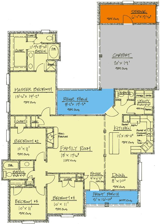 136 best Small house plans images on Pinterest | Small house plans ...