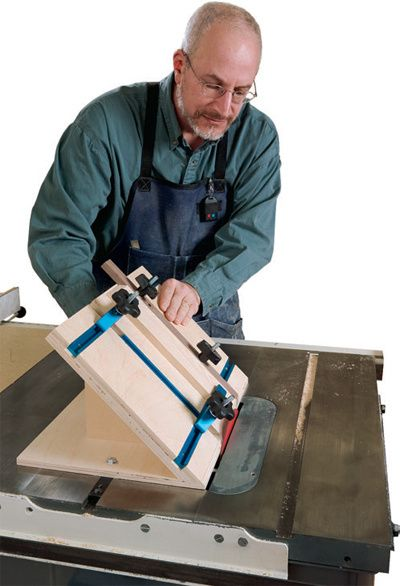 Making a Small Parts Mitering Jig - Free Woodworking Jig Project from Woodworker's Journal