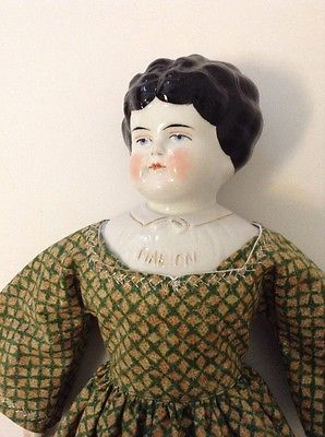"""16"""" Pet Name China Doll Marion With Repair And Replaced Body"""