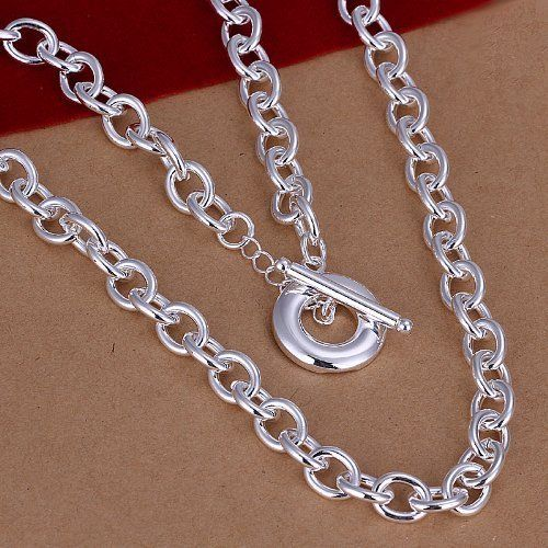 DUMAN Fashion Jewelry 925 Solid Silver Plated TO  ($8.91)