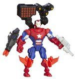 Marvel Avengers Hero Mashers Battle Upgrade Iron Patriot Action Figure