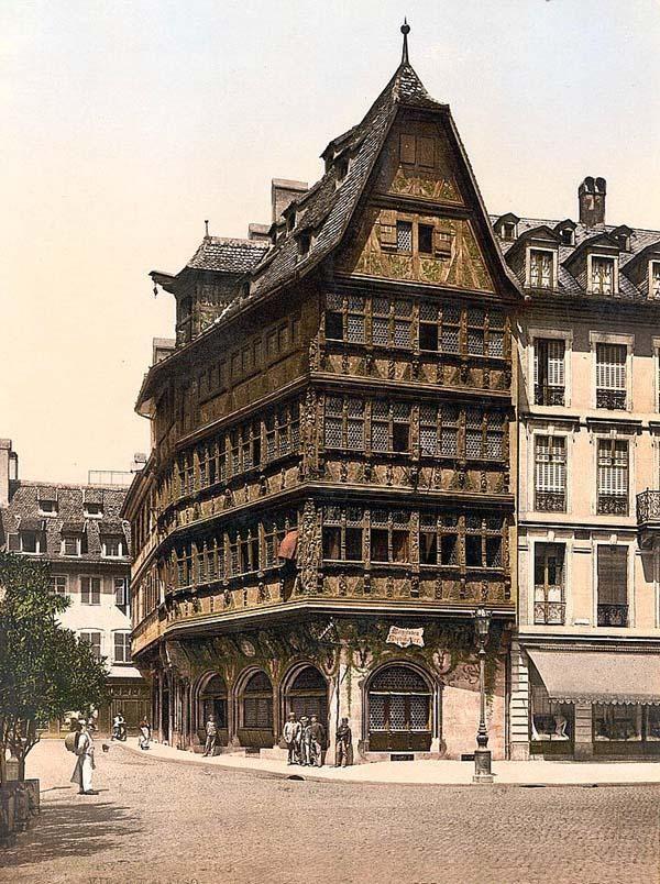 Altehaus, Strassburg, Alsace Lorraine, Germany