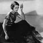 Mrs Austin Gray wearing Hattie Carnegie 1935 photo by Wynn Richards