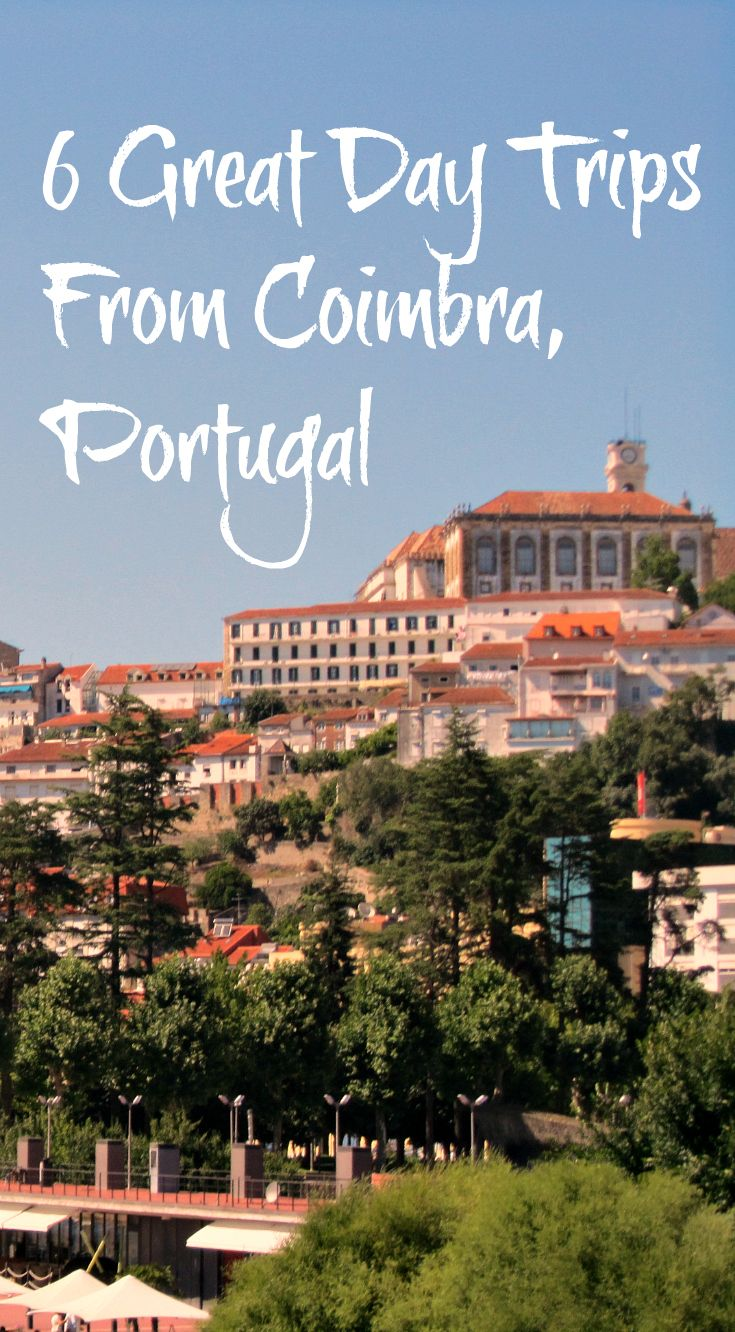 Coimbra, the capital of central Portugal is worth spending time in but is also a great base for exploring the region through day trips. Read more on Julie Dawn Fox in Portugal: http://juliedawnfox.com/2015/11/16/day-trips-from-coimbra-thatll-make-you-want-to-stay-longer-in-central-portugal/