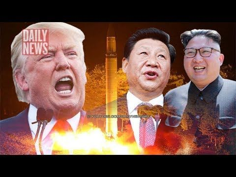 """Donald Trump rages as China caught HELPING Kim: 'There will NEVER be a friendly solution' DONALD Trump has launched a scathing attack on China after the communist giant was caught """"red handed"""" helping North Korea. Original content: https://www.dailystar.co.uk ✅ I do not own the image or th..."""