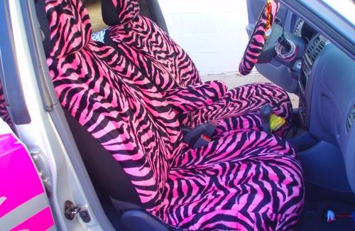 Zebra seat covers<3